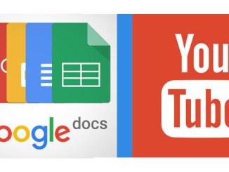 Come inserire video di youtube in google documenti 1