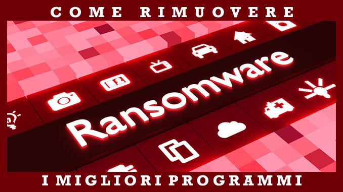 Come rimuovere il ransomware dal computer