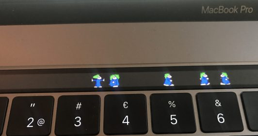 Lemmings personalizzare macbook pro
