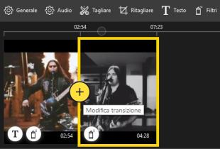 Icecream video editor modifica transazione