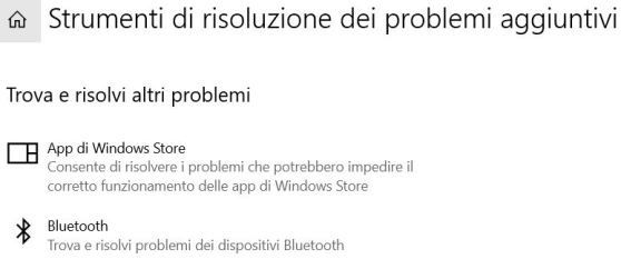 Impossibile inviare file via bluetooth su windows 10