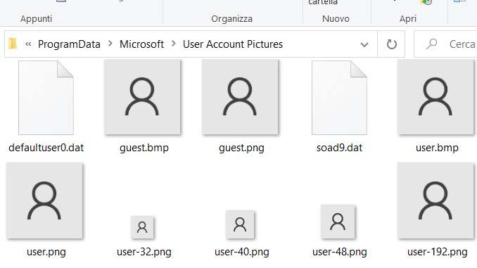 Come cambiare lavatar predefinito dellaccount utente su windows 10