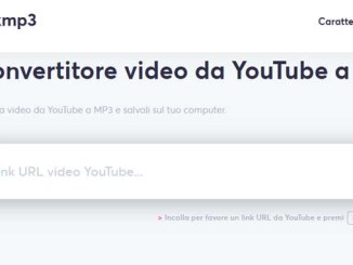 Come convertire un video di youtube in mp3