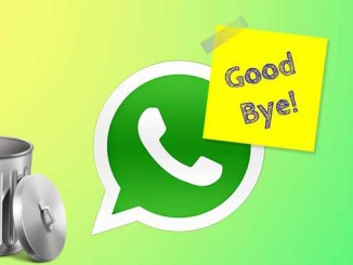 Come eliminare account di whatsapp