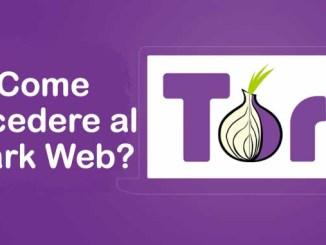 Come trovare siti onion del dark web
