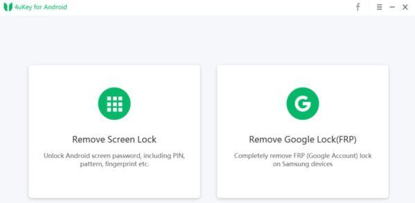 4ukey per android rimuovere il blocco frp