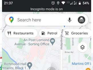 Come usare google maps in modalita incognito