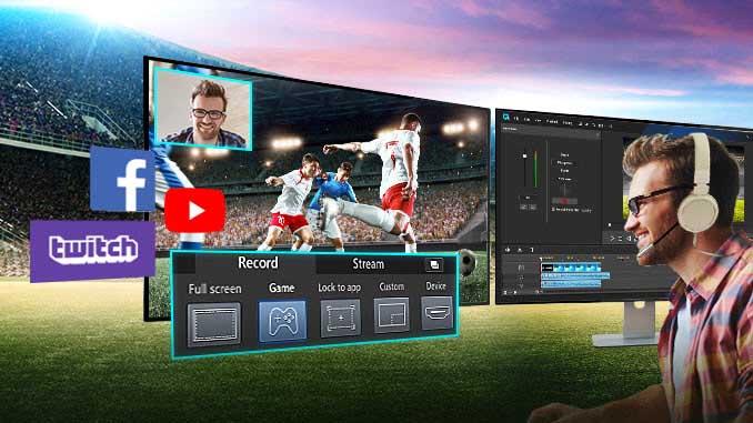 I migliori programmi per registrare i gameplay per youtube o twitch
