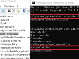 Guida per attivare laccount amministratore in windows 11