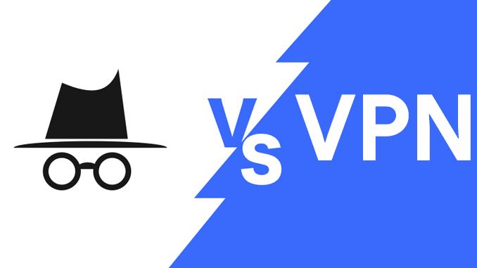 Qual e la differenza tra la modalita in incognito e una vpn