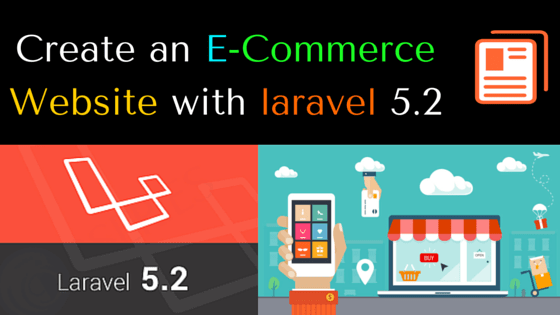 Create an E-Commerce Website with laravel 5.2