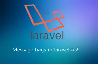 message bags in laravel 5.2