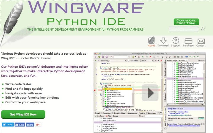 13 Best IDE and editors for Python programming in 2019