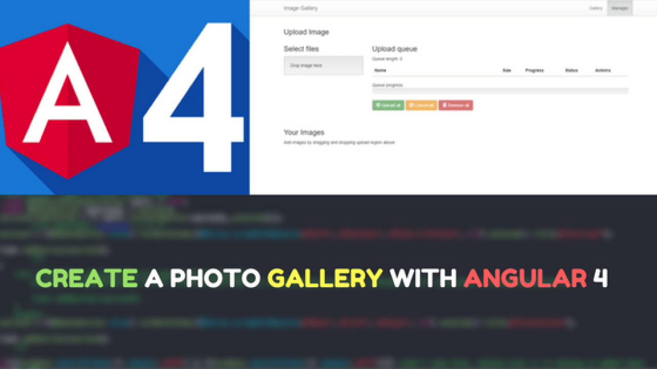 Create a Photo Gallery with Angular 4   Dunebook