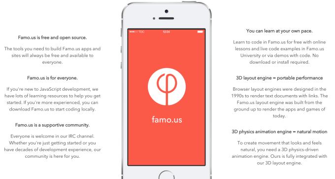 famo-us javascript engines