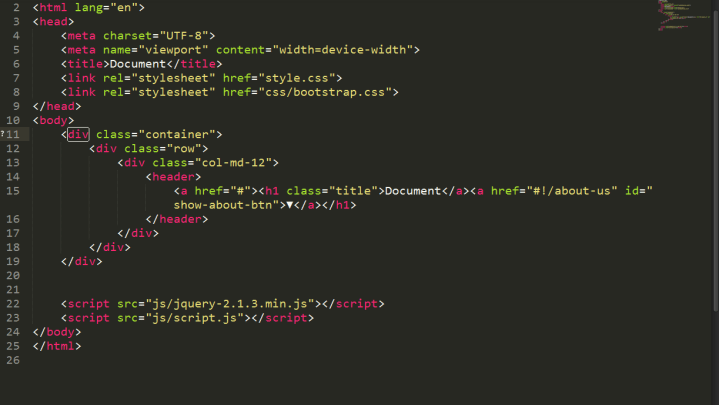 sublime text html editor