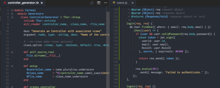 Vscode themes