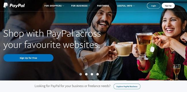 React example paypal