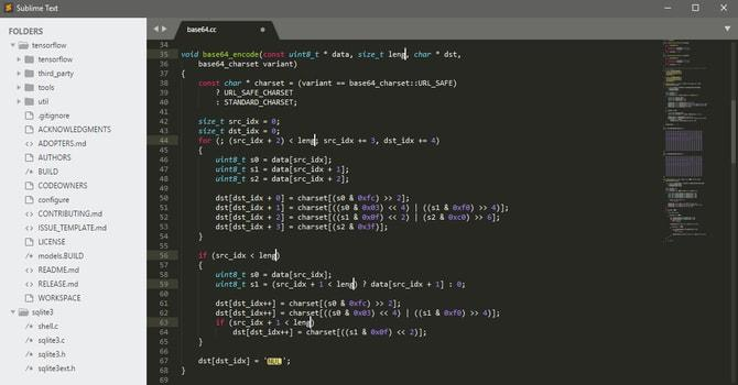 sublime text linux code editor