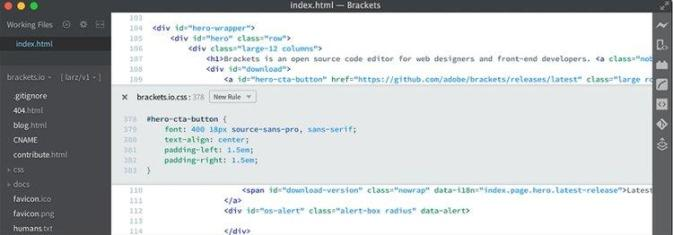 linux code editor
