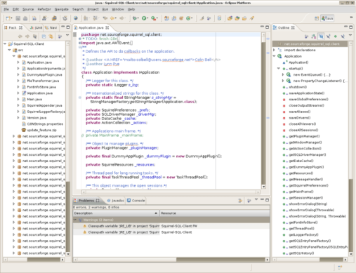 eclipse Java compiler
