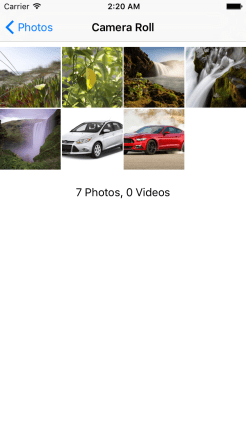 react native image picker