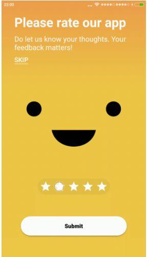 Emotion-Rating-View-Widget