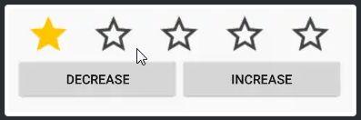 Rating-Bar-Widget