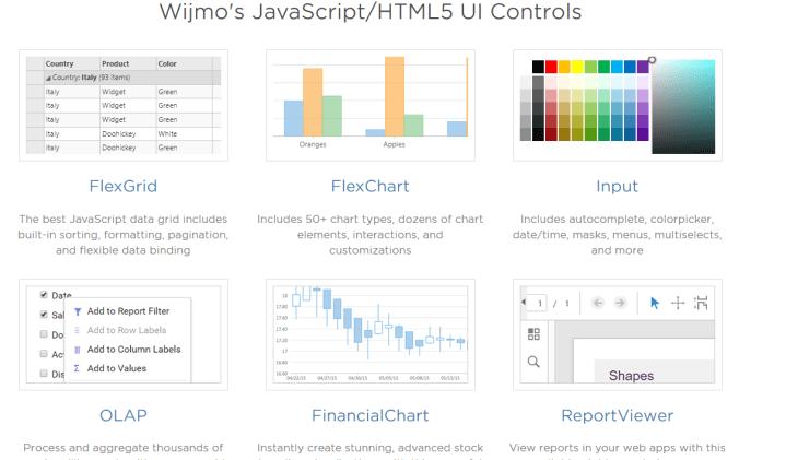 wijmo Angular UI framework
