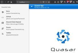 Image result for quasar framework React Native alternatives