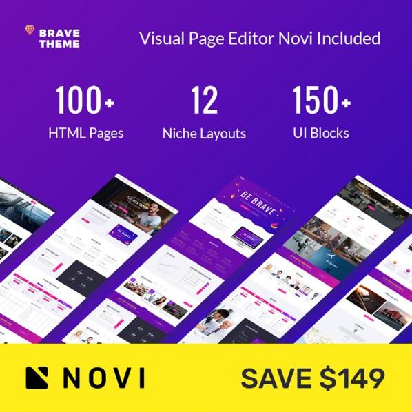 Brave Responsive Multipurpose Website Template