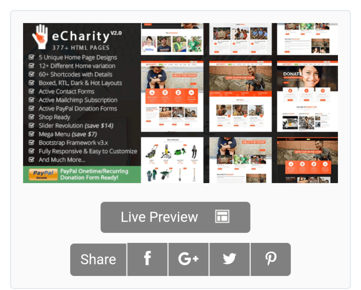 NGO Website Templates