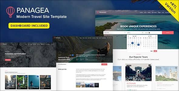 Travel Website Templates