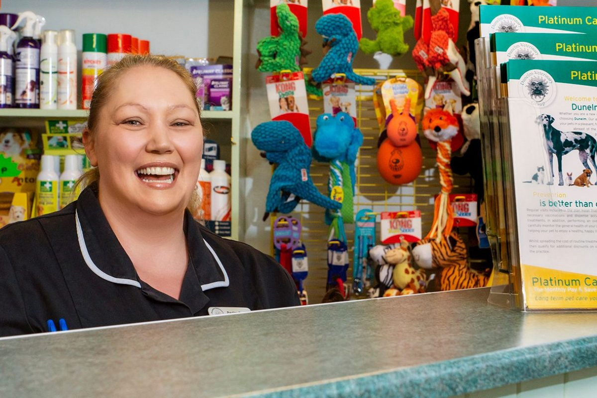 About Dunelm Veterinary Group | Reception & Shop | Welcome