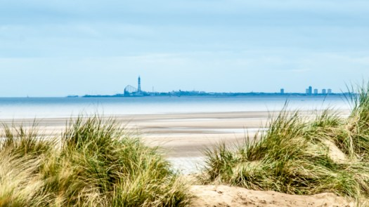 Blackpool Skyline from Southport