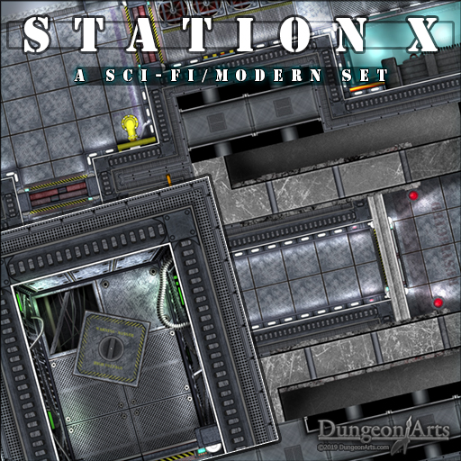 Station X - A Sci-Fi /Modern Tile set