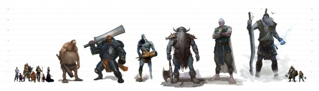 Creature Size in D&D 5e - Size Matters! - Dungeon Solvers