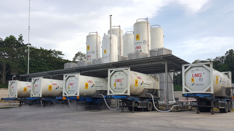 Risco Tawarkan Infrastruktur Transportasi LNG Berukuran Kecil Menengah