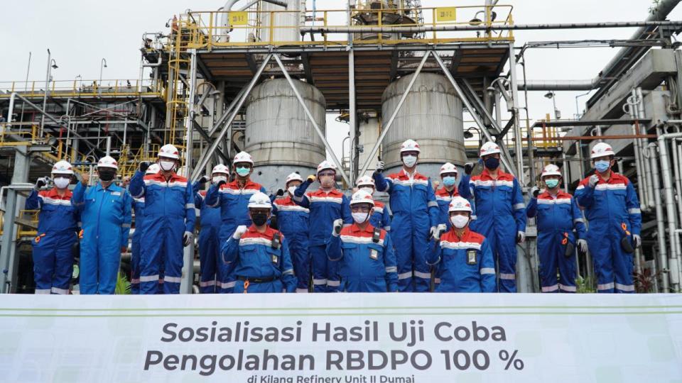 Pertamina akan Produksi D100 Pertama di Indonesia