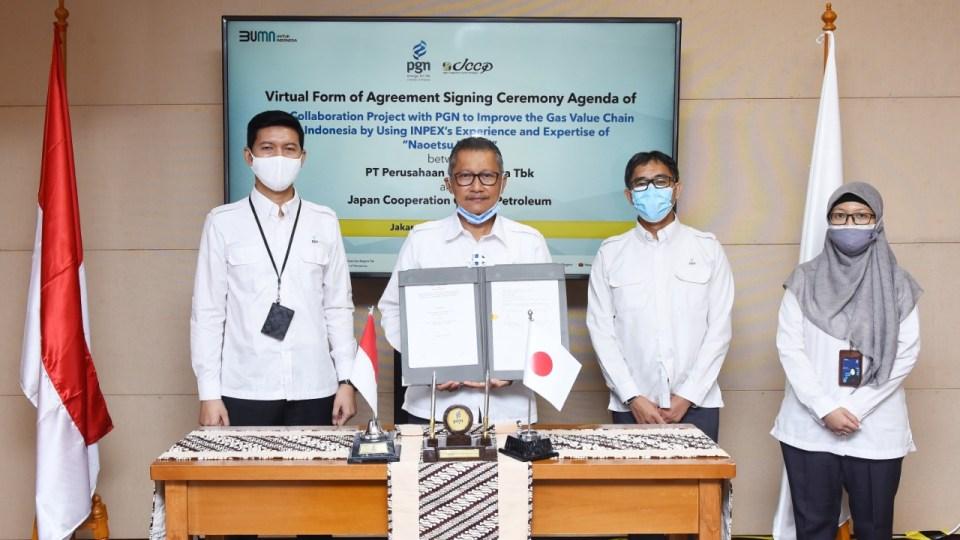 PGN Gandeng Japan Petroleum Kembangkan Bisnis LNG