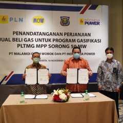 PLTMG MPP Sorong Pembangkit Listrik Pertama Konversi ke Bahan Bakar Gas