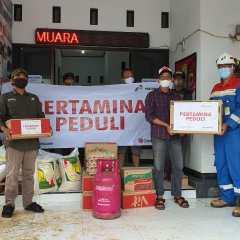 Pertagas OWJA Salurkan Bantuan Banjir di Karawang