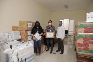 Tanggap Bencana Alam, Pertamina EP Serahkan Bantuan ke Tim Siaga Bencana Kementerian ESDM