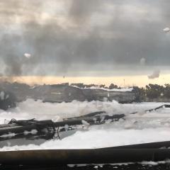 Kobaran Api di Dua Tangki Kilang Balongan Berhasil Dipadamkan