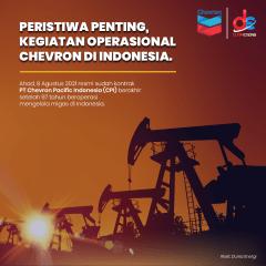 Jalan Panjang Chevron Berkiprah di Indonesia