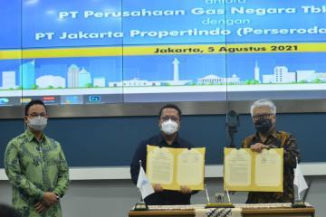 PGN Gandeng Jakpro Kembangkan Utilitas dan Infrastruktur Gas Bumi di Jakarta