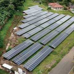 Bukit Asam Kejar Pembangunan PLTS dengan Kapasitas Mencapai 430 MW