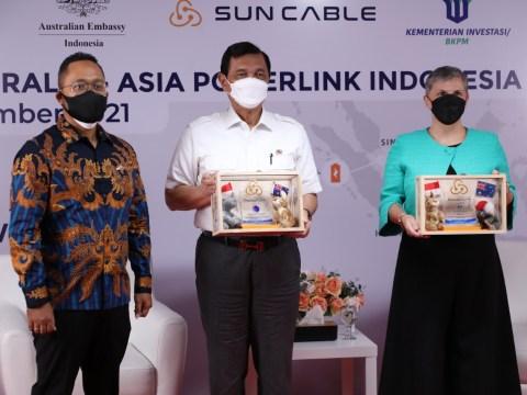 Sun Cable Gelontorkan US$2,58 Miliar Investasi Proyek Infrastruktur Energi Terbarukan AAPowerLink