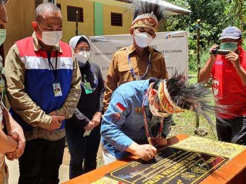 PT Kilang Pertamina Internasional Unit Kasim Bangun Klinik Karantina TWA Sorong