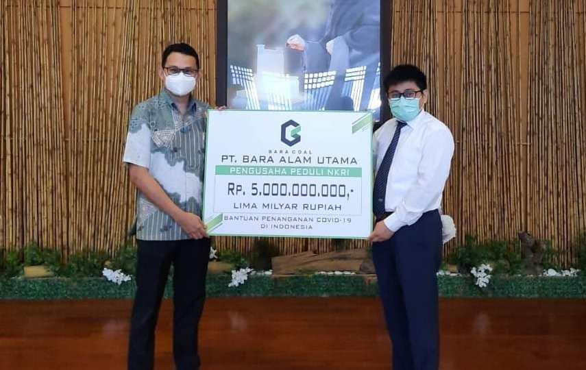 Baracoal Gelontorkan Rp5 Miliar Bantu Penanganan COVID-19